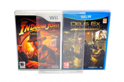 GP12 Wii / WiiU Game Box Protectors